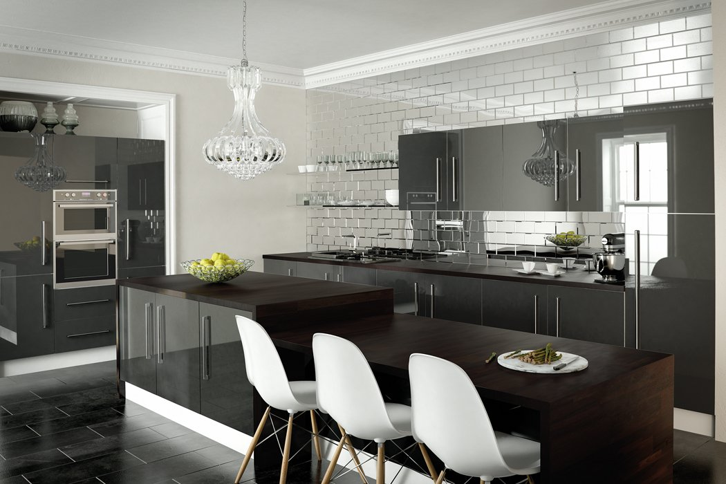 Zurfiz Metallic Anthracite Kitchen
