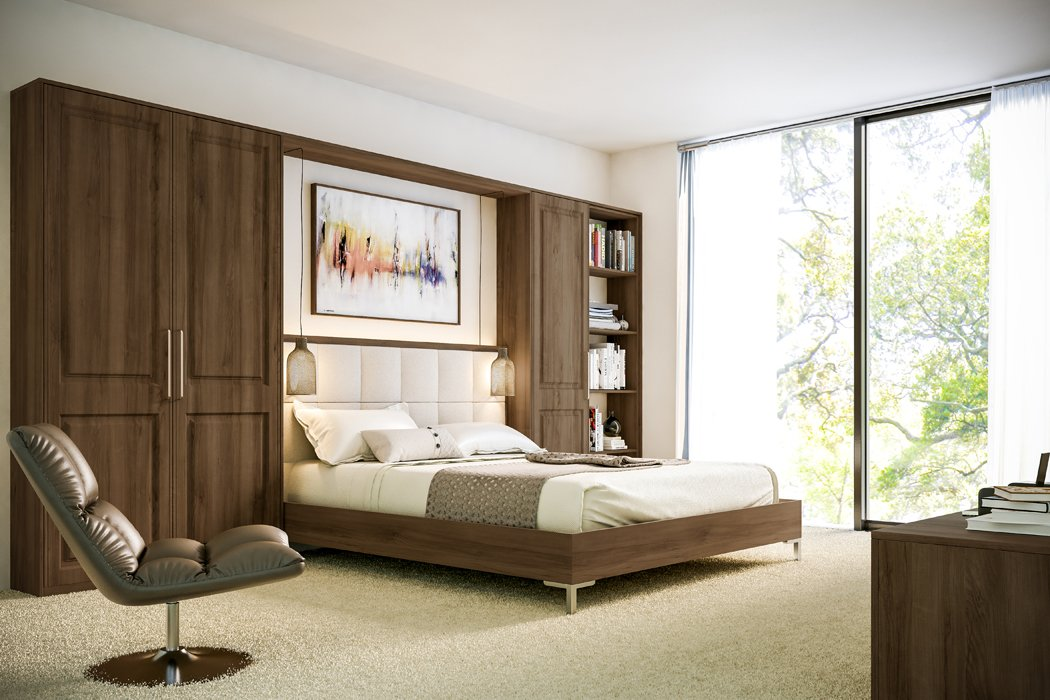 Bella Natural Walnut Tuscany Bedroom