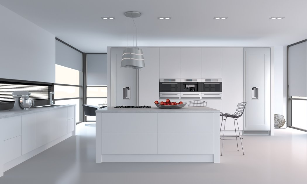 Porcelaine white Venice Kitchen
