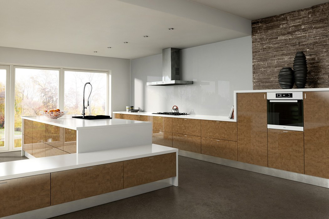 Zurfiz Ultragloss Copperleaf Kitchen