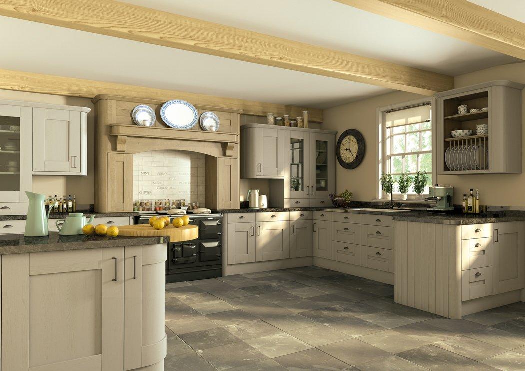 Pronto Wilton Oakgrain Dakkar Kitchen