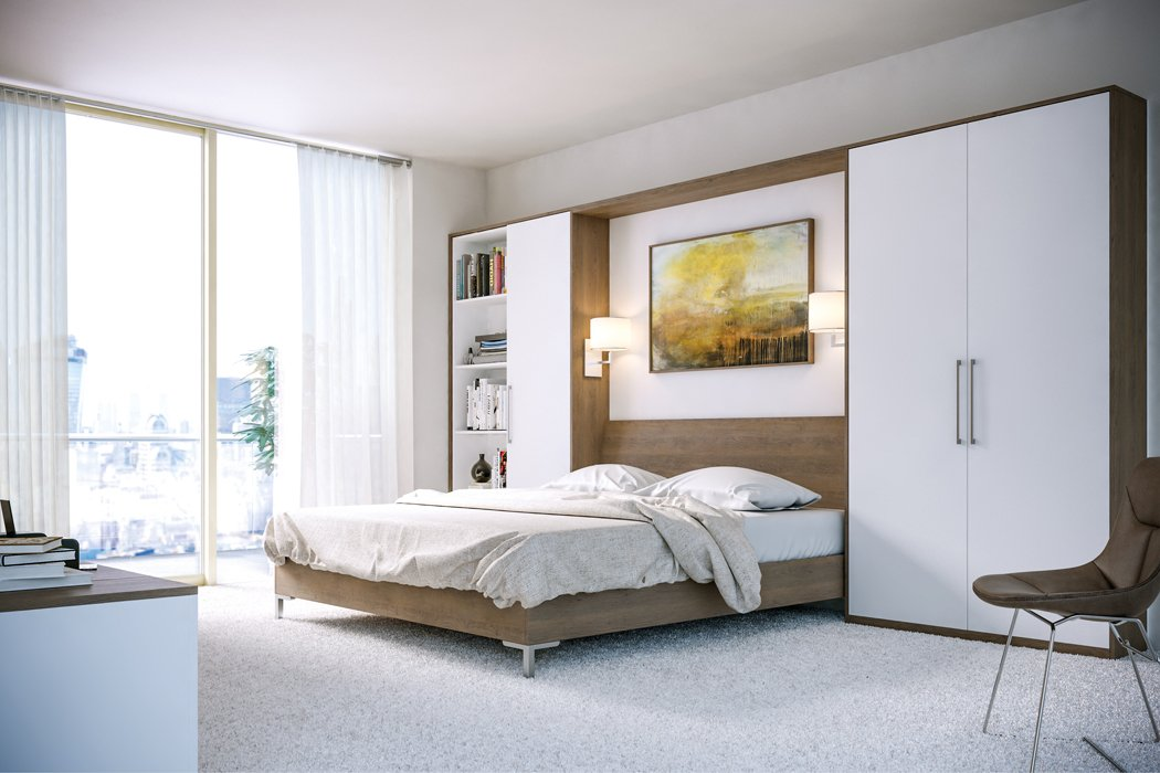 Zurfiz Gladstone Tobacco Oak Bedroom