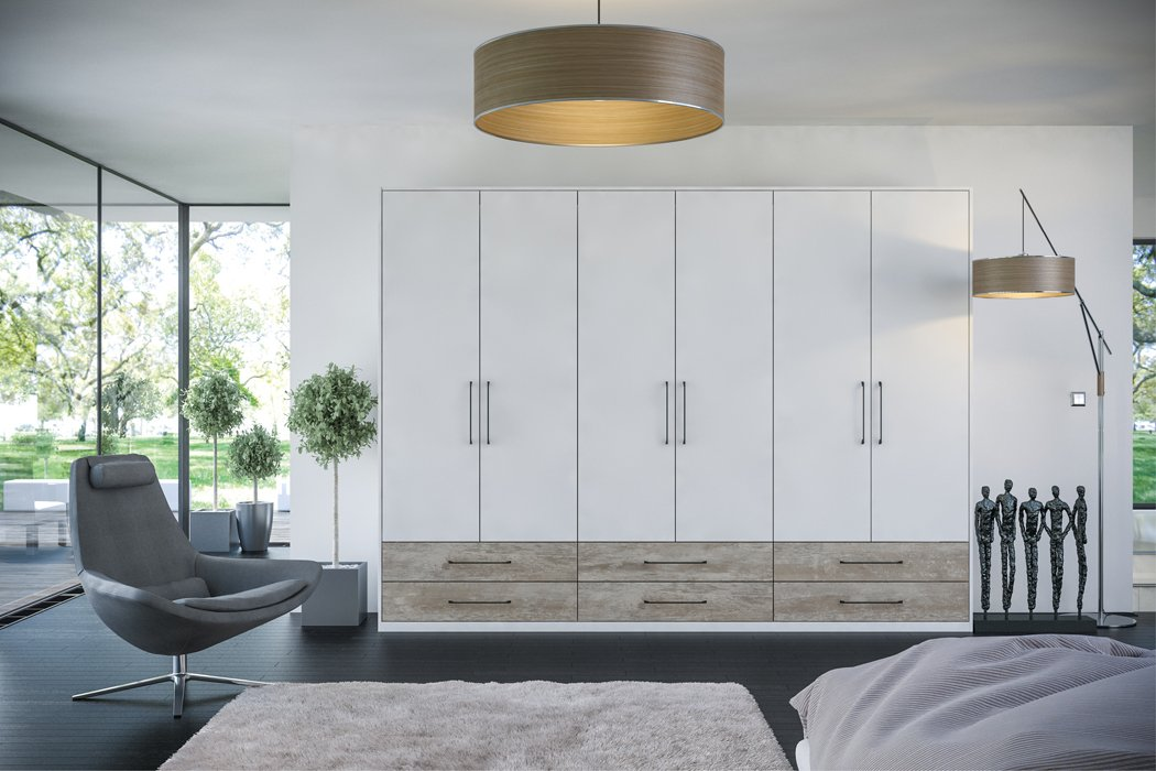 Zurfiz Supermatt Light Grey Bedroom
