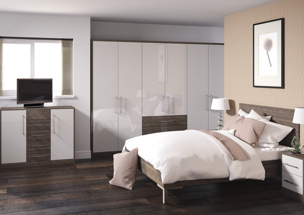 Zurfiz Ultragloss Cashmere Bedroom