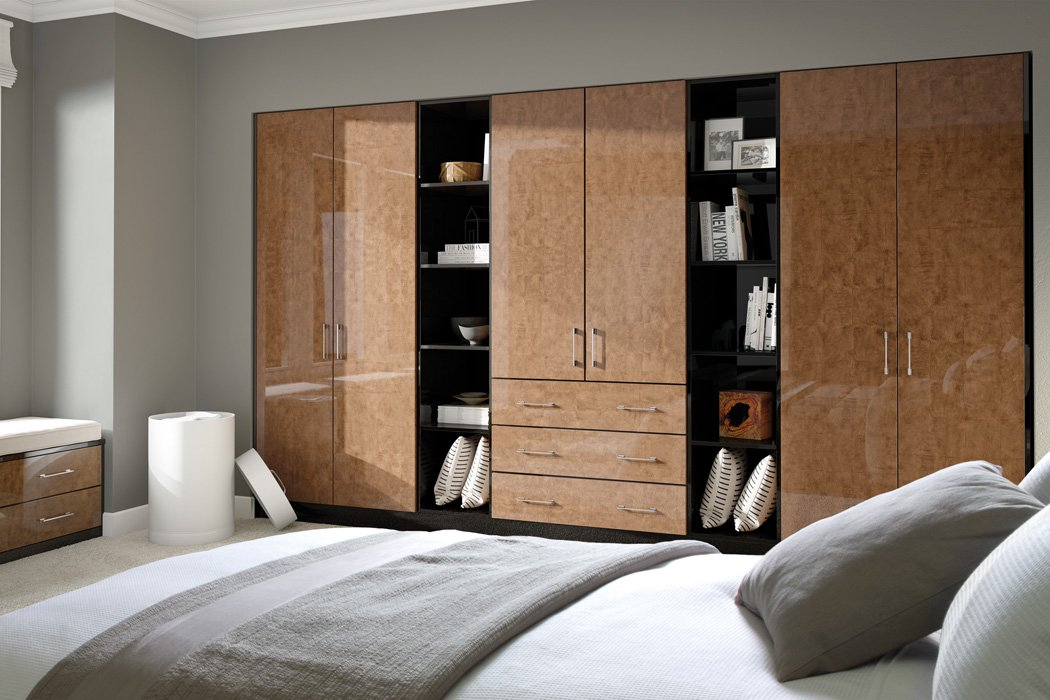 Zurfiz Ultragloss Copperleaf Bedroom