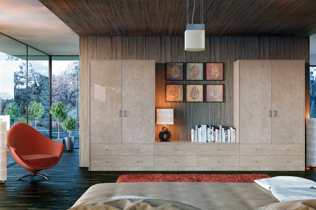 Zurfiz Ultragloss Limestone Bedroom