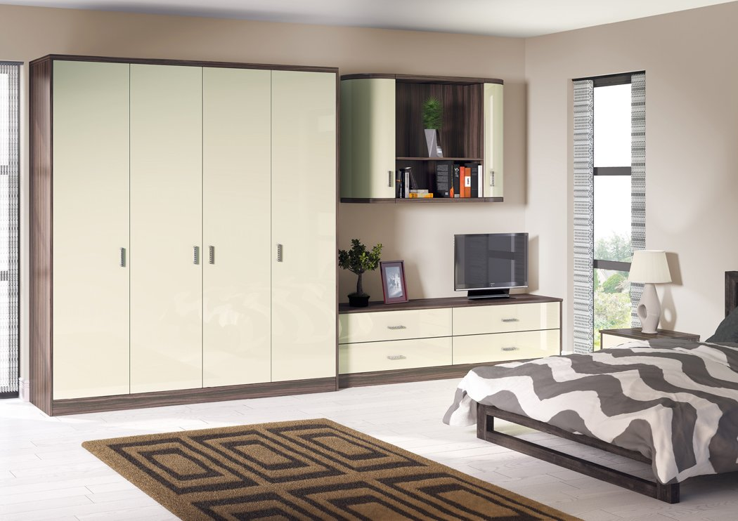 Zurfiz Ultragloss Mussel Bedroom