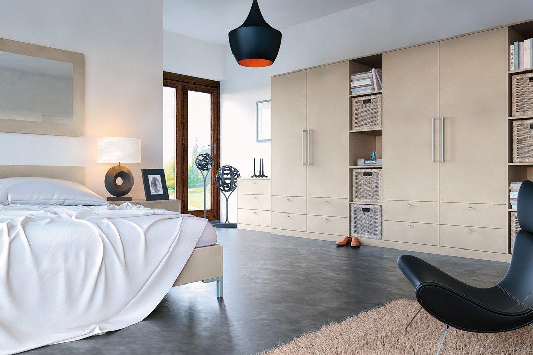 Zurfiz Suprmatt Metallic Cashmere Bedroom